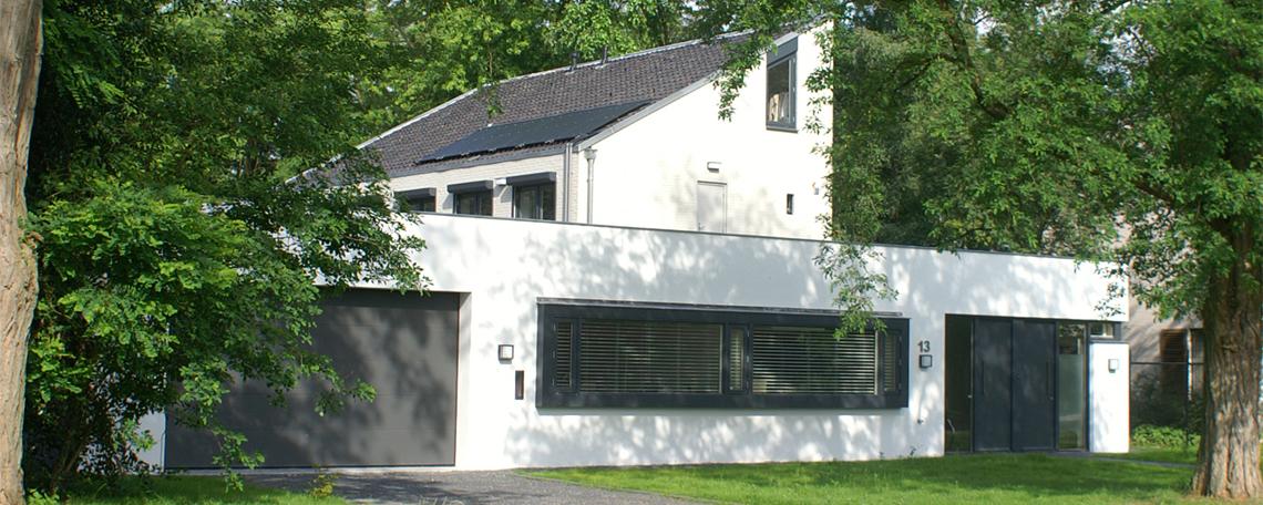 Renovatie en uitbreiding villa – 's-Hertogenbosch